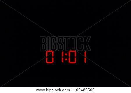 Digital Watch 01:01