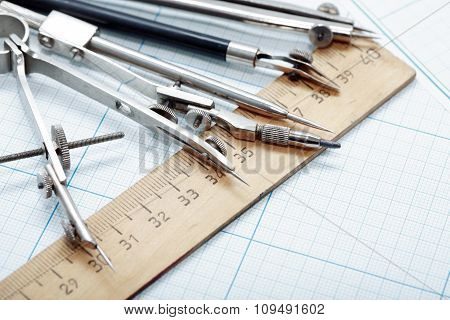 Drawing Instrument Set
