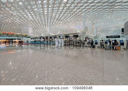 Shenzhen Airport Checkin
