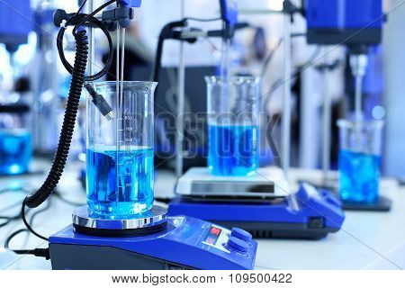 Medical pharmacology laboratory