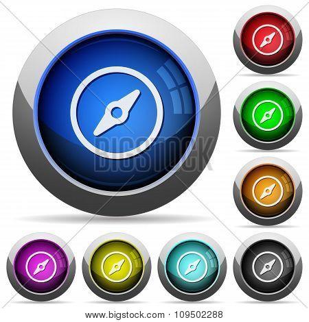 Compass Button Set