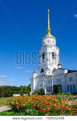 The Bell Tower Of The Assumption Cathedral, Vladimir, Russia