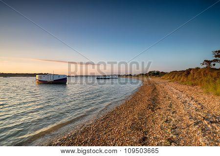 House Boats At Bramble Bush Bay