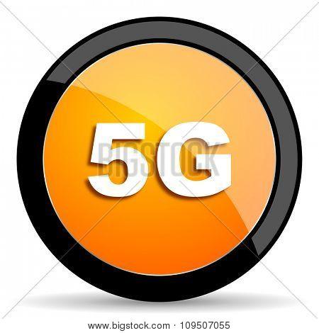 5g orange icon