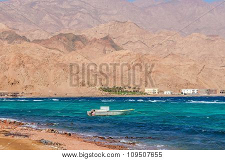 Mountains And Coast Of Red Sea