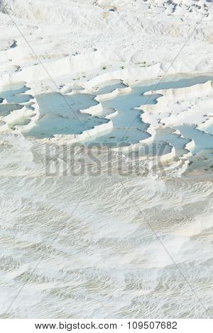 Pamukkale, natural site in Denizli Province in southwestern Turkey