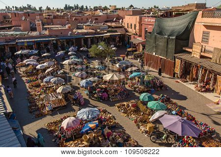 Market In Marrakesh