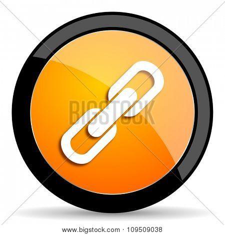 link orange icon
