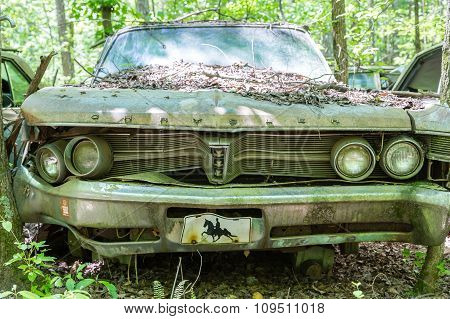 Old Bent Chrysler