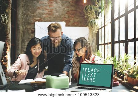 Laptop Working Meeting Technology Commercial Copy Space Concept