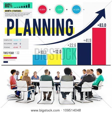 Planning Thinking Plan Think Strategy Brainstorming Concept