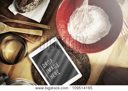 Baking Bakery Preparation Gourmet Recipe Concept