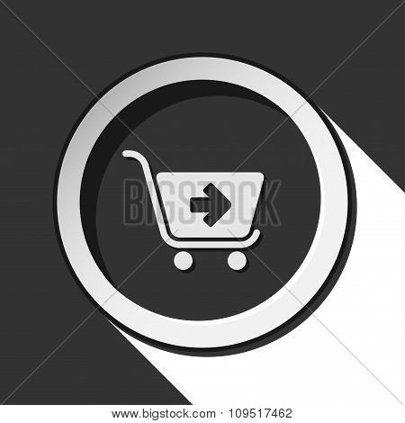 Icon - Shopping Cart Next With Shadow