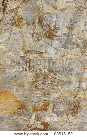 Textured And Colored Stone Abstract Background In Warm Tone