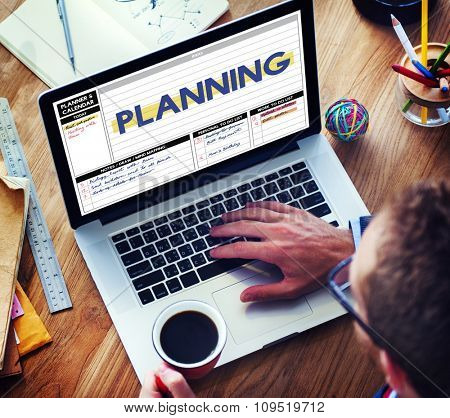 Planning Process Strategy Guidelines Concept