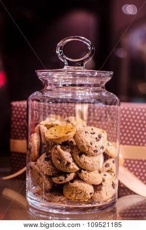 vanilla cookie jar
