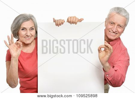 Old age couple