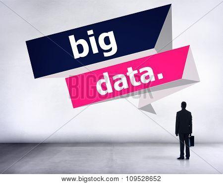 Big Data Network Connnecting Storage Computing Internet Concept