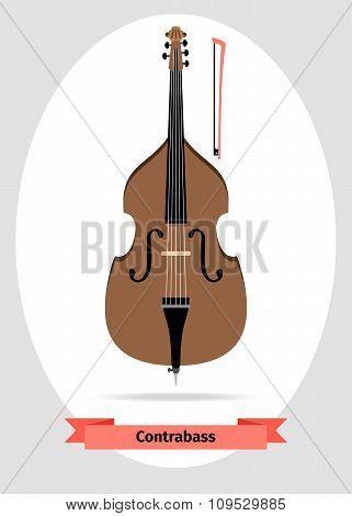 Musical instrument double bass