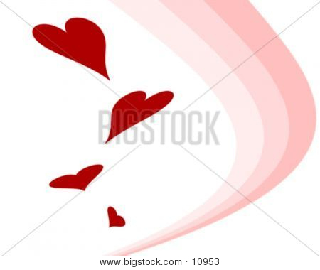 Hearts And Stripes poster