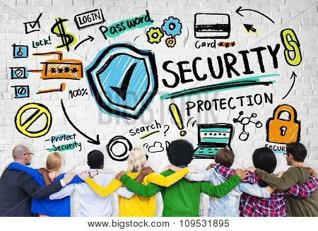 Ethnicity People Team Togetherness Security Protection Concept