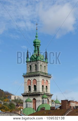 Assumption Church, Tower Kornyakta, Lviv