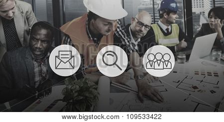 Icon Idea Ideas Digital Logotype Media Sign Brand Concept