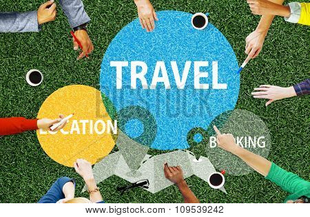 Travel Location Booking Destination Trip Adventure Concept