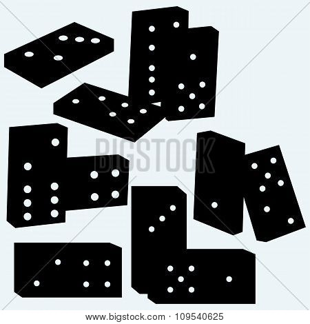 Set dominoes