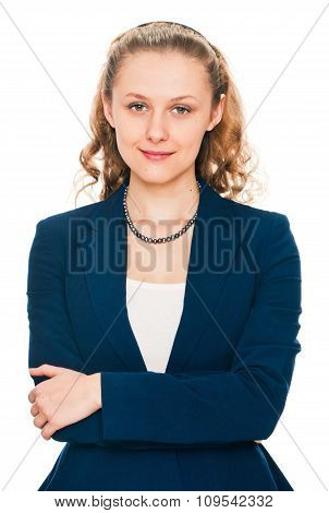 Beautiful woman portrait - nice