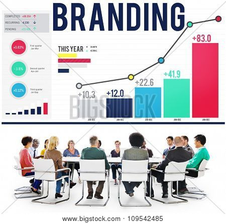 Branding Marketing Advertising Copyright Trademark Concept