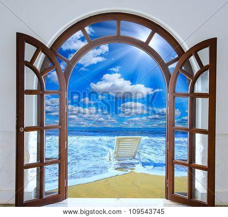Door Open Sea