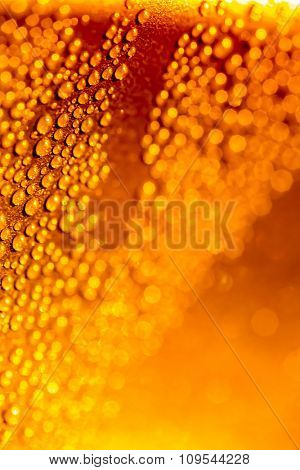 blurred background with drops for your design