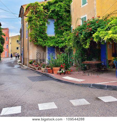 Street Cafe, France, Provence