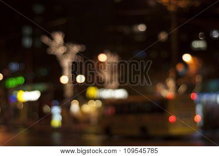 Bokeh Night Lights