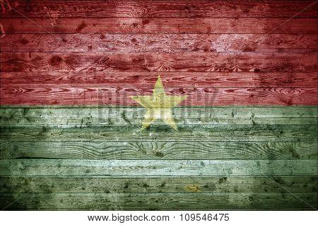 Wooden Boards Burkina Faso