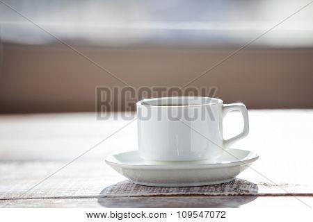 coffee grains as a heart I love to coffee