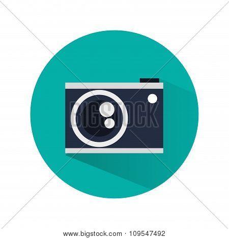 Camera over circle design