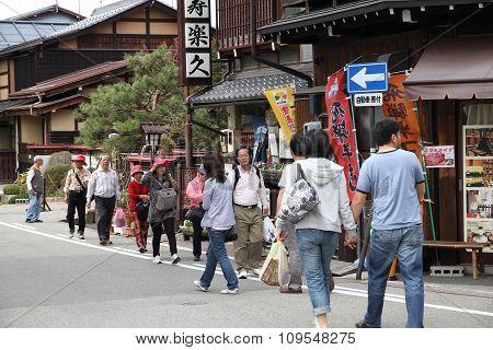 Takayama Tourists
