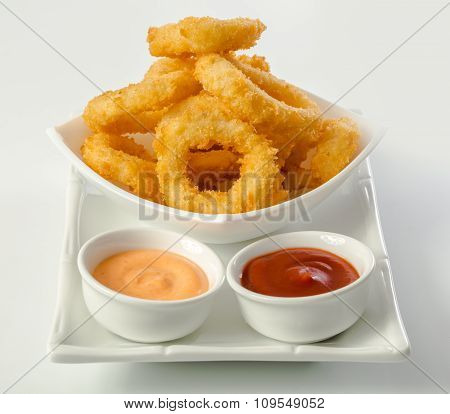 Deep Fried Calamari Rings