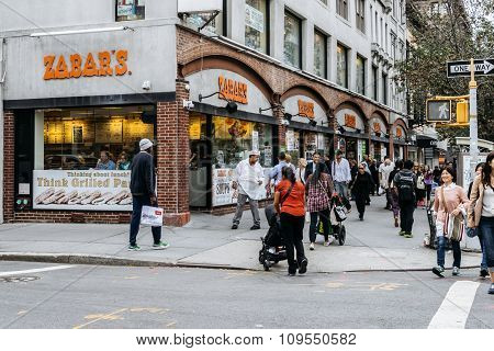 Zabars Is A Specialty Food Store In New York