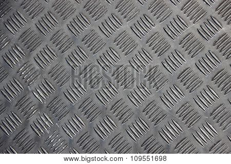 Steel Surface Background With Five Line Pattern