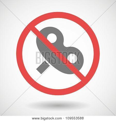 Forbidden Vector Signal With A Toy Crank
