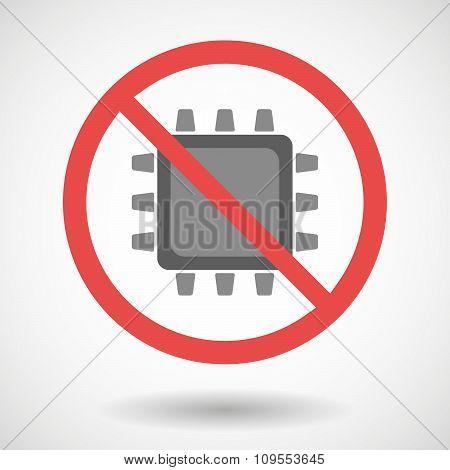 Forbidden Vector Signal With A Cpu