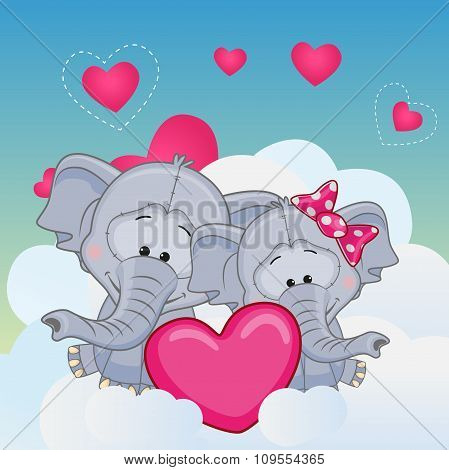 Lovers Elephans