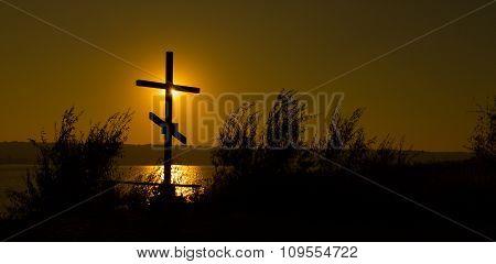 Cross Near The Water