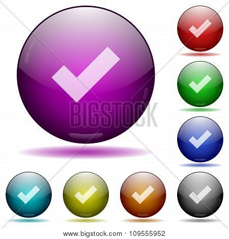 Ok Glass Sphere Buttons
