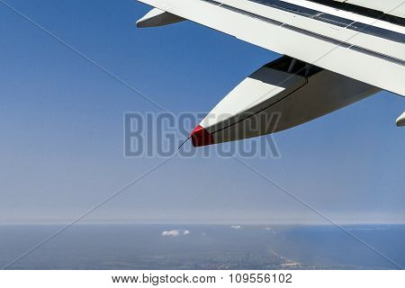 Big Passenger Jet Airplane Gaining Altitude After Taking Off From The Ben Gurion International Airpo