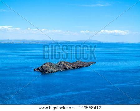 View To Titicaca Lake At  Isla Del Sol