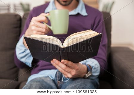 Coffee And A Book Are A Good Mix